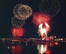Gero Onsen Fireworks